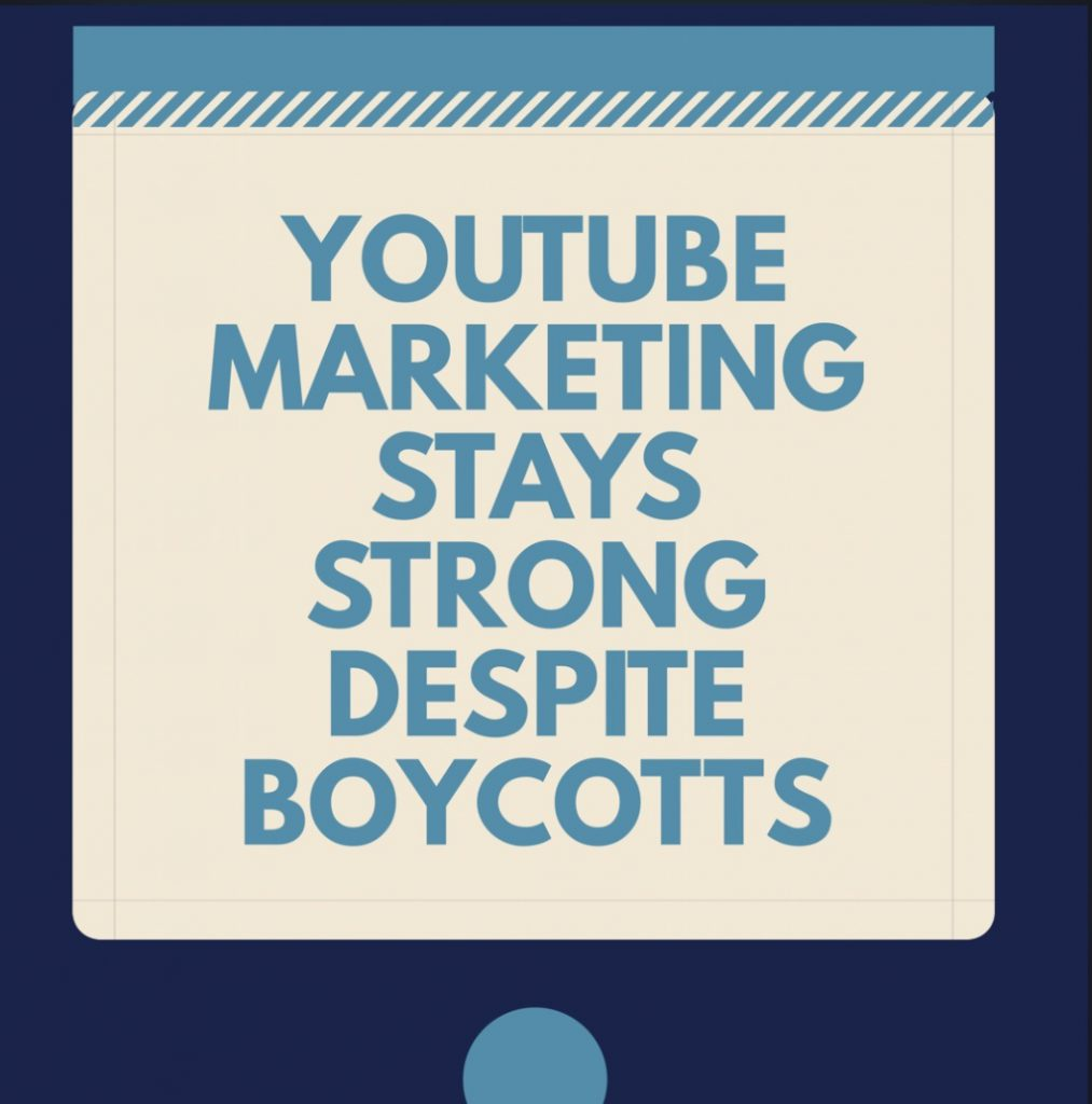 Youtube Marketing stays Strong Deposit Boycotts