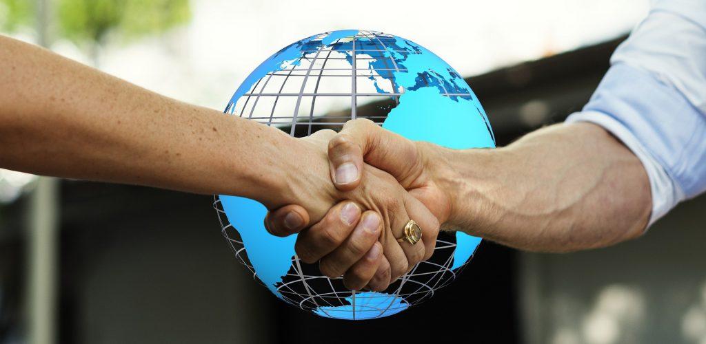 Customer Engagement Hand Shake