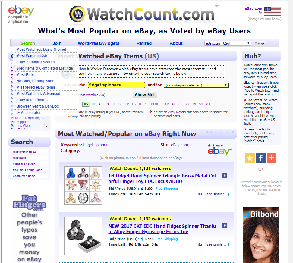 Paid Advertising Watchcount