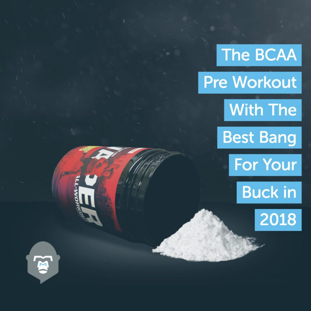The BCAA pre workout with the best bang for your buck in 2018