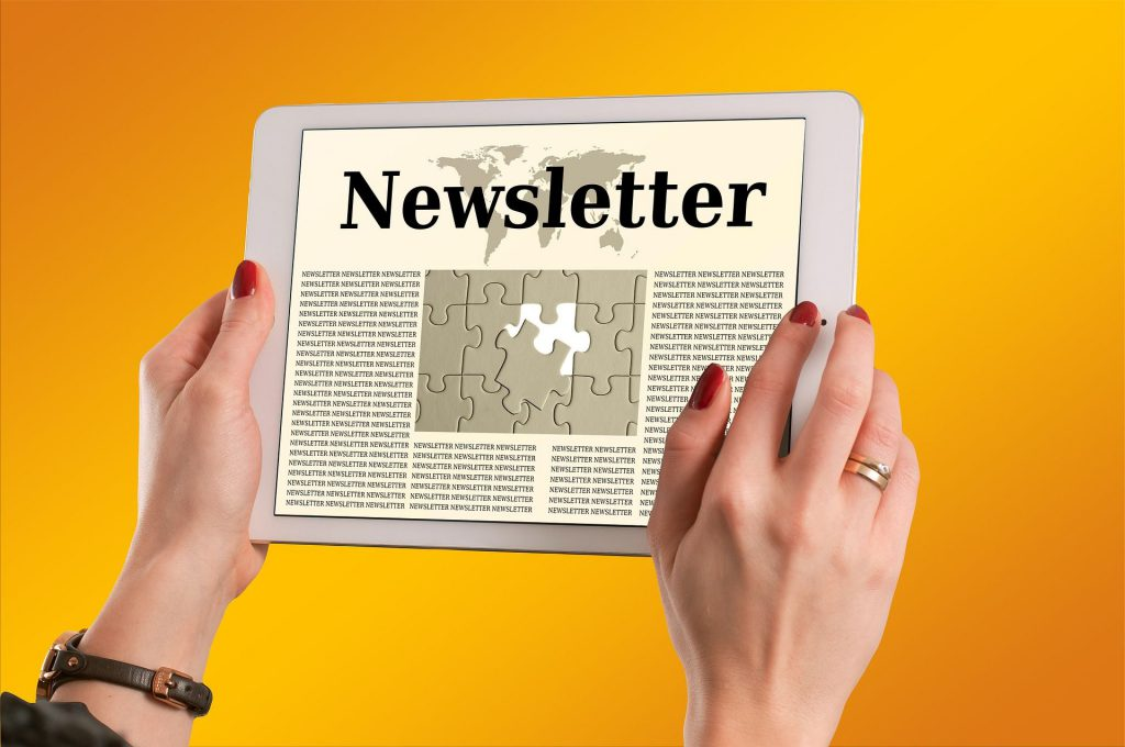Follow-up email Newsletter