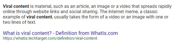SEO Goals Viral Content