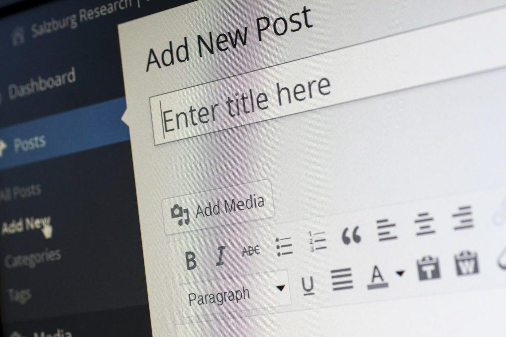 blogging tips wordpress