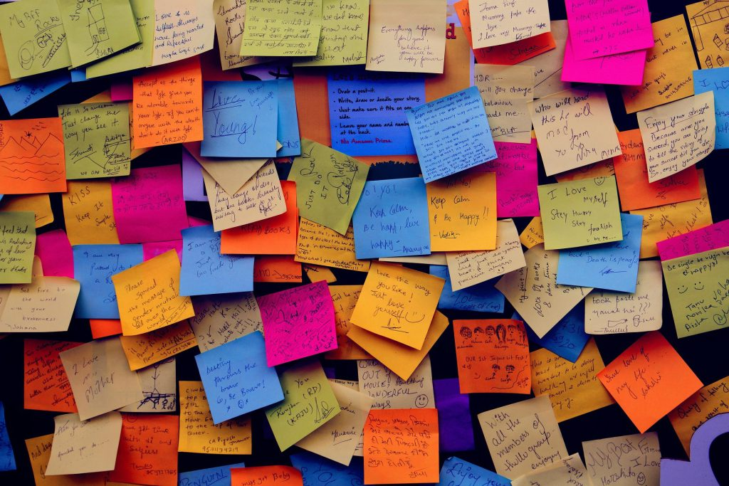Hashtags Bulletin Board