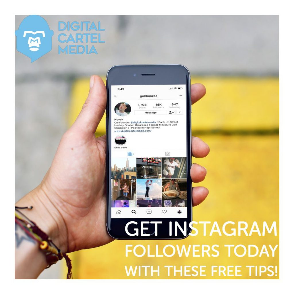 Get Instagram Followers Today With These Free Tips.
