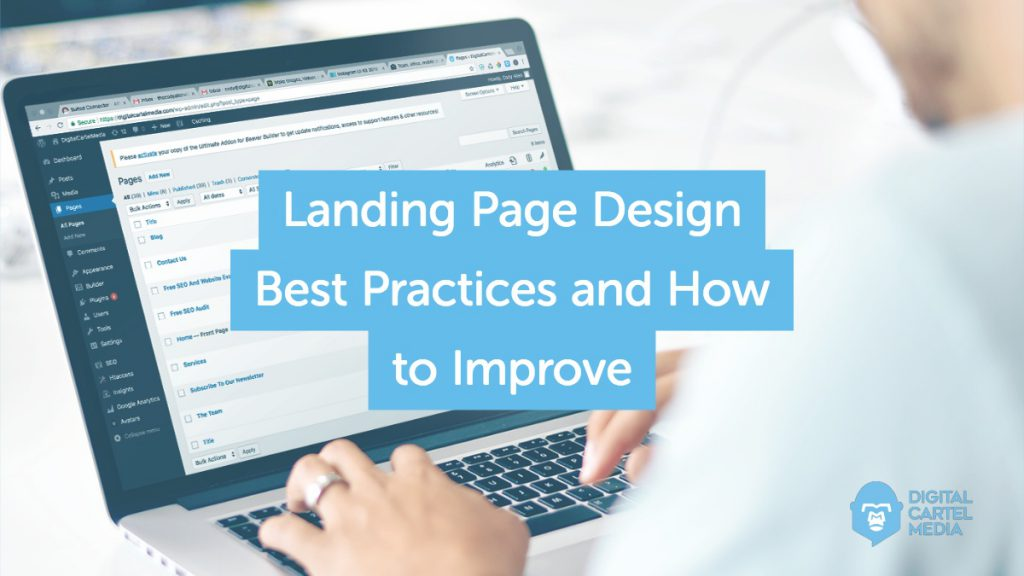 Landing Page Design Best Practices and How to Improve