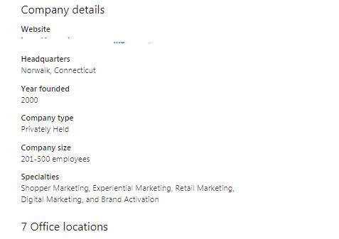 LinkedIn Marketing Strategies Company Profile
