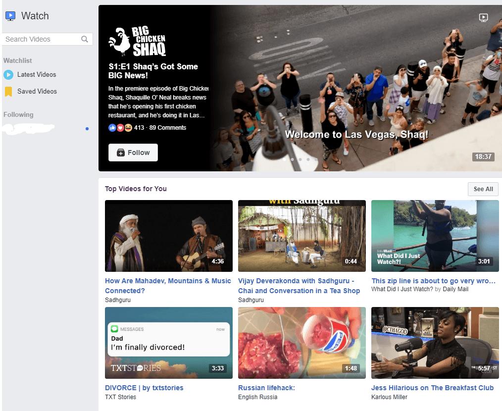 Facebook Story Ads Facebook Watch