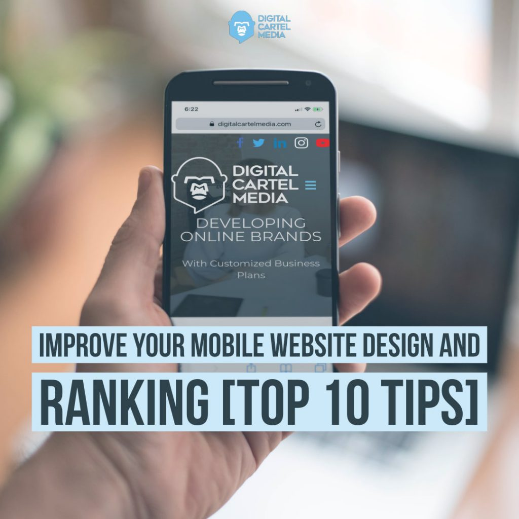 Mobile Website Design Tips