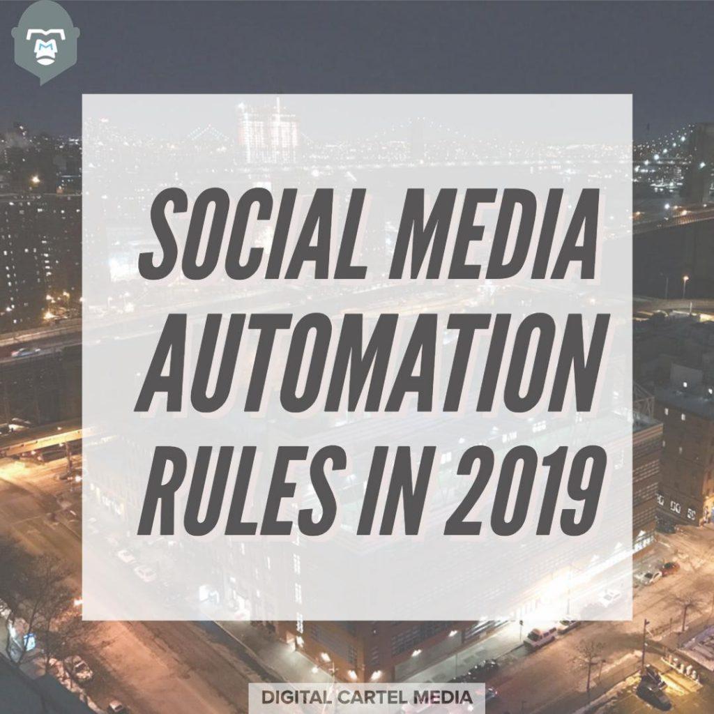 social media rules 2019